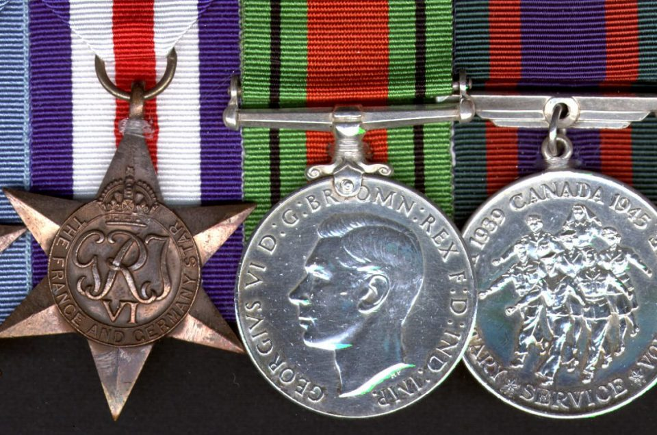 What to do with Grandad's medals?